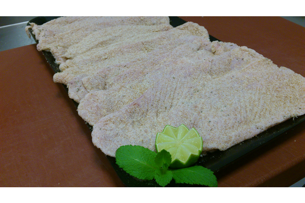 TURKEY BREAST SEASONED WITH LIME AND MINT